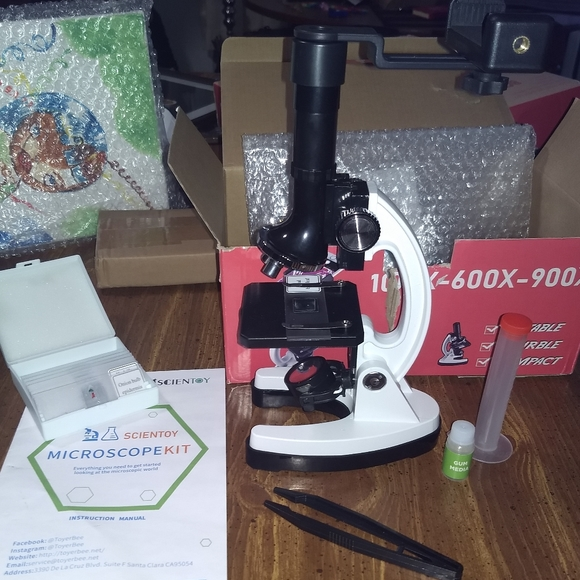 Scientoy Other - MICROSCOPE KIT w/ SMARTPHONE MOUNT ++ science kids